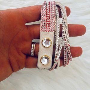 Swarovski Jewelry - Swarovski Slake ombré wrap bracelet